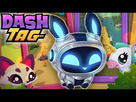 Tagging ALL 100 Pets In Dash Tag! | Dash Tag Endless Runner