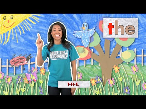 The Song - Sight Word Song