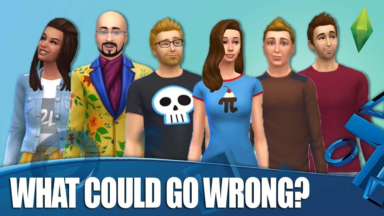 The Sims 4 - O que poderia dar errado? + vídeo