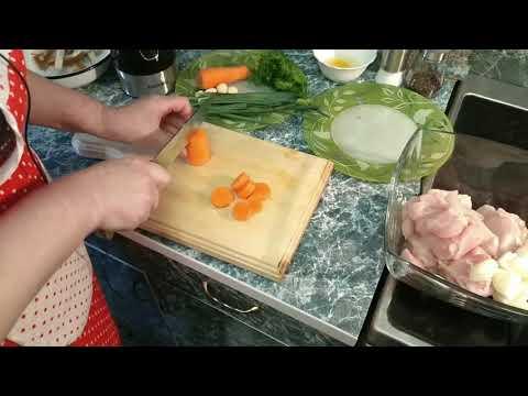 Сочные куриные котлеты в блендере Biolomix / Juicy chicken cutlets in blender Biolomix
