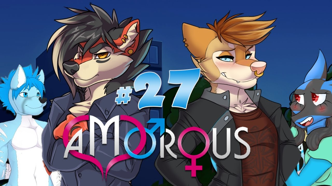 Amorous furry dating game walkthrough no commentary 9
