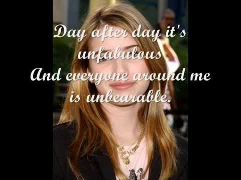 unfabulous theme song   YouTube