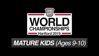 Mature Kids Stage 1 Wave 1 - 2019 NNL World Championship
