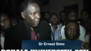 Dr Ernest Simo: Douala University - FGI - 2014