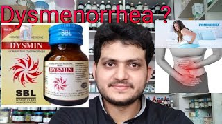 Dysmenorrhea! Homeopathic medicine for dysmenorrhea?? painful menses??