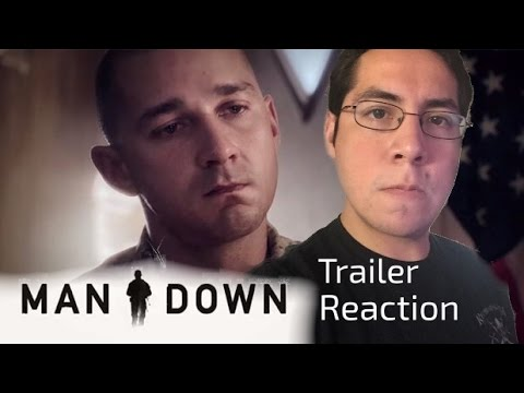 Caro the Movie Critic: Man Down Official Trailer #1 Reaction