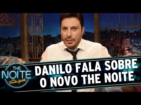 The Noite (07/03/16) - Danilo Fala Sobre As Novidades Da Nova Temporada Do The Noite