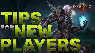 Tips, Tricks, and Guide for New Players | [Diablo 3] Season 12+