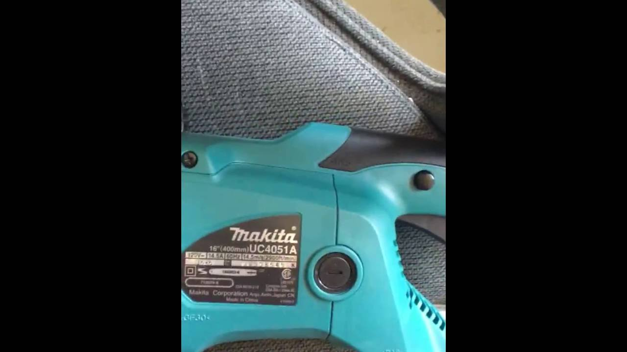 Makita uc4051a corded electric chainsaw youtube makita uc4051a corded electric chainsaw keyboard keysfo Image collections