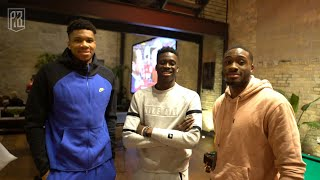 Thanasis, Giannis & Alex play HORSE | AntetokounBros watch the 2020 Super Bowl - 49ers VS Chiefs