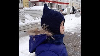 Шапка шлем Гномик