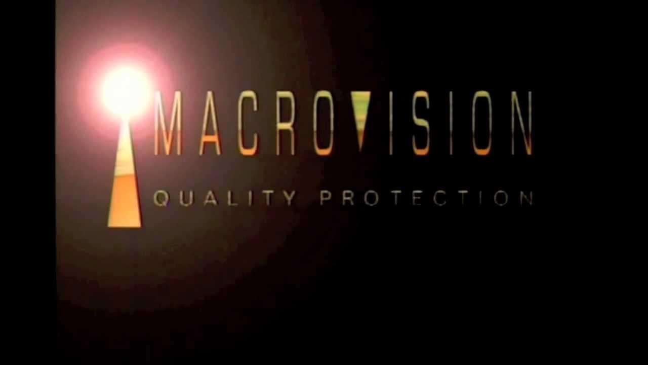 Bien connu Macrovision and Deluxe Digital Studios Logo HD - YouTube BV65