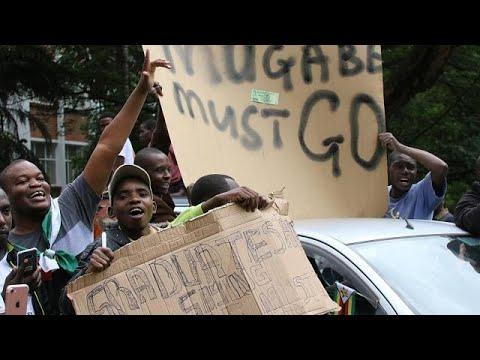 euronews (in Italiano): Zimbabwe, corteo contro Mugabe