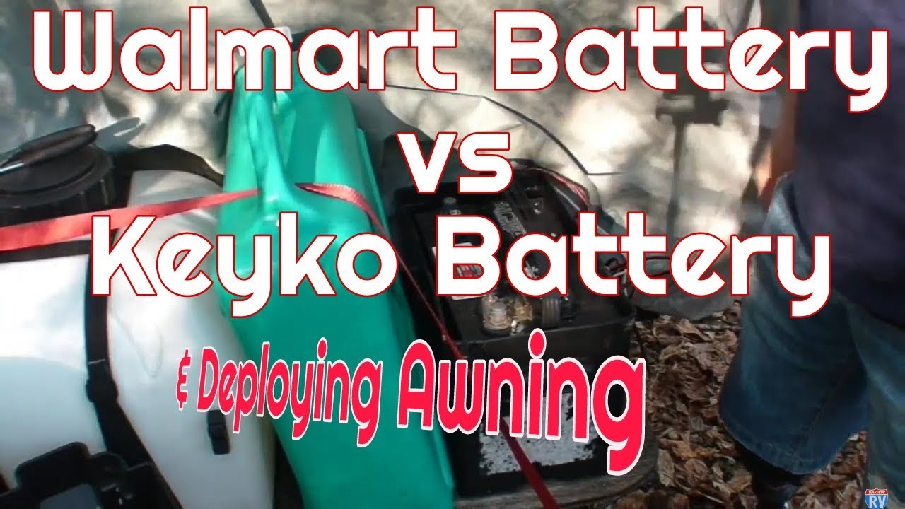 Walmart Deep Cycle Vs True Solar Deploying Awning Wiring Money At Tent Room