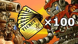 Battle Cats - Uber Super Salt Metal Slug (100 Tickets)