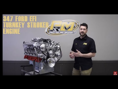347 Small Block Ford 500HP EFI TURNKEY Engine Details from Prestige Motorsports