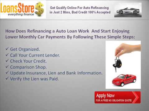 What Does Refinancing A Car Do >> How Does Auto Refinancing Work