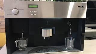 видео Ремонт кофемашины Miele (Миле) в Москве: выезд на дом, диагностика, доставка в сервисный центр