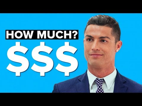 WHO IS THE WORLDS RICHEST ATHLETE? - RONALDO VS MESSI