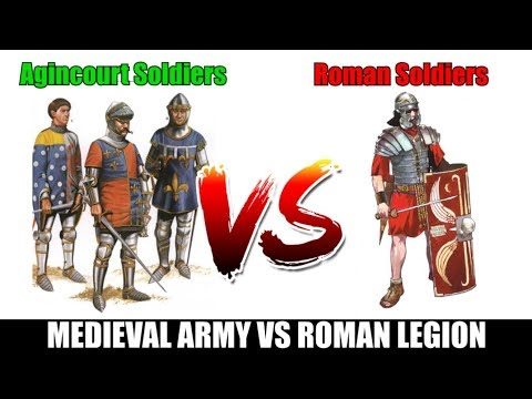 Late Medieval Army VS Roman Imperial Army