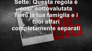 The Notorious B.I.G. - Ten Crack Commandments (Italiano)