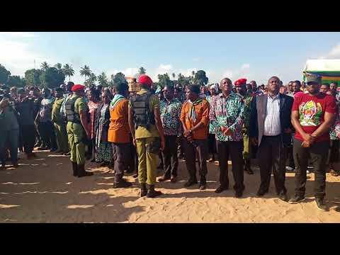 Mwenge wa Uhuru mkoani Pwani 2018 Julai 12