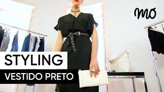 Styling MO by Gabriela Pinheiro - Vestido preto