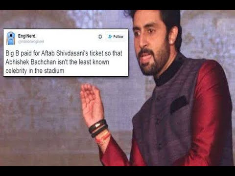 Abhishek Bachchan Trolled For Living With His Parents, Hits Back With An Awesome Reply   ABP News