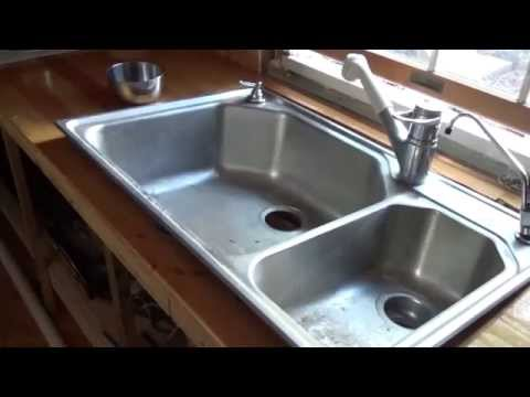 Installing The Kitchen Plumbing In My Tiny House O35