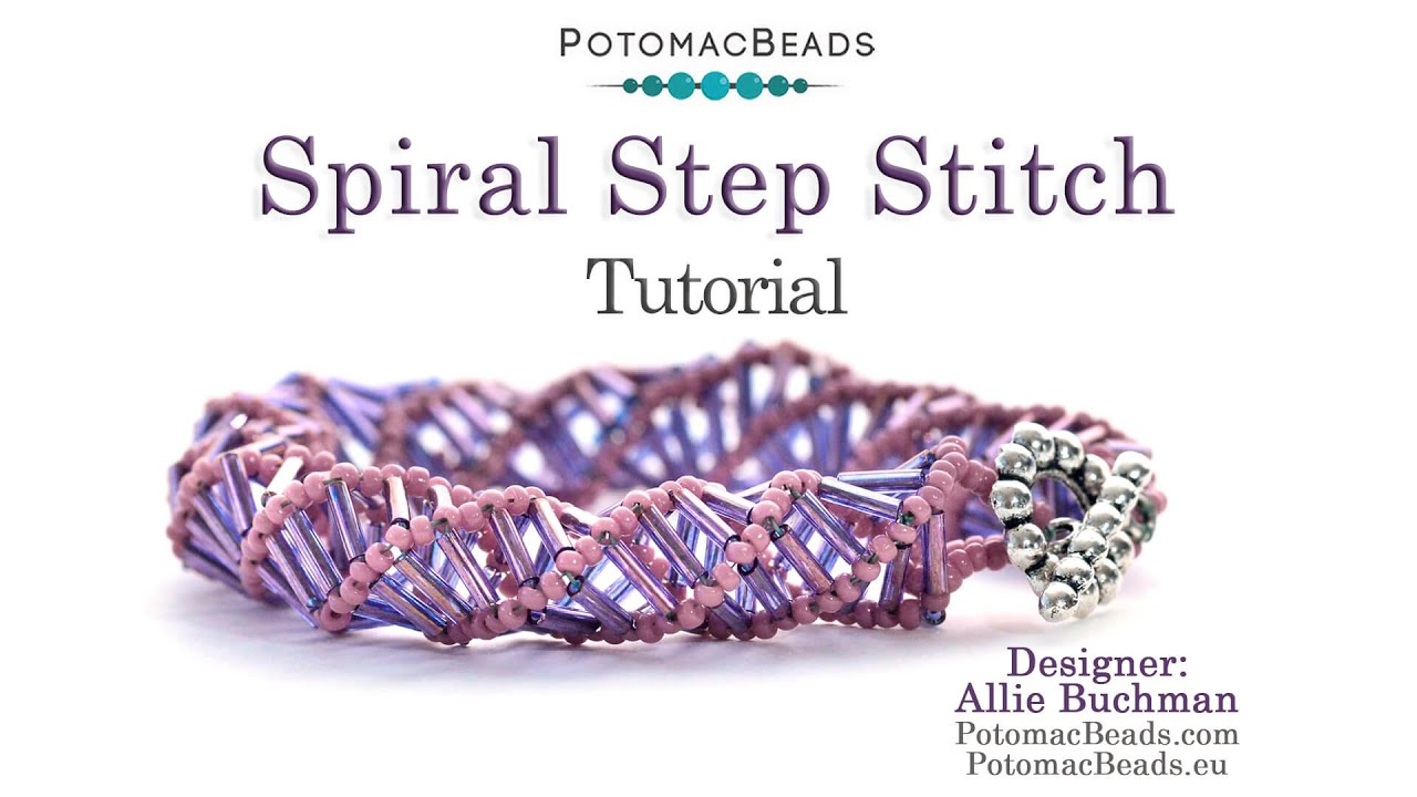 Make Spiral Step Jewelry (Necklace or Bracelet) - YouTube