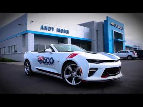2017 Indy 500 Pace Car Chevy Camaro Andy Mohr Chevrolet Youtube