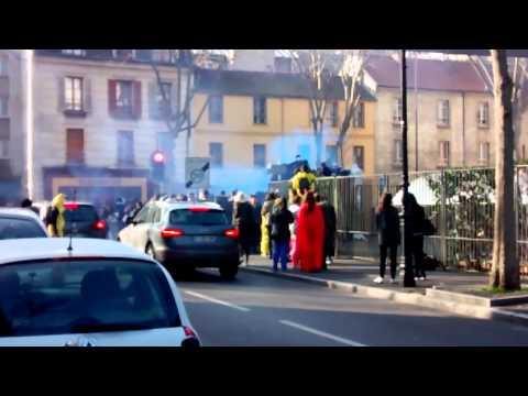 Blocus lycée Eugène Ionesco Issy Les Moulineaux !