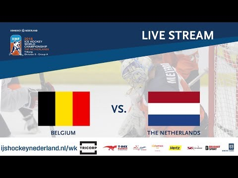Live Stream WC Ice Hockey Division II Group A: Belgium vs. The Netherlands April 28th 2018