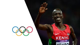Ezekiel Kemboi (KEN) Wins 3000m Steeplechase Gold - London 2012 Olympics