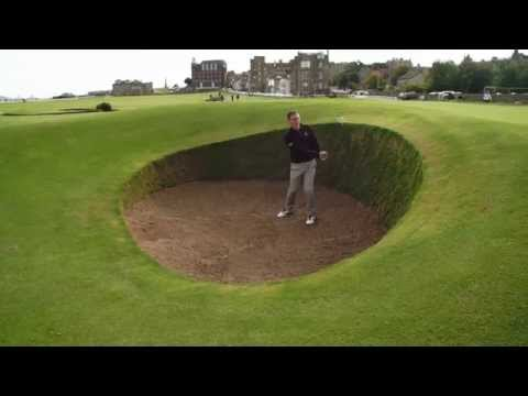 How to Play the Old Course with Steve North - Hole 17 - Road