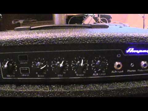 Ampeg BA-112 noise problems