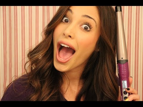How To Curl Your Hair Using A Wand I Sierra Dallas thumbnail