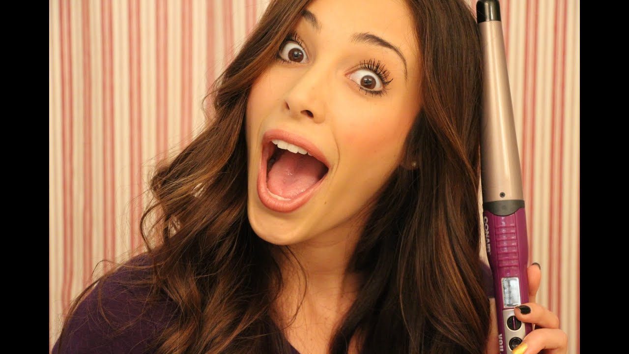 How To Curl Your Hair Using A Wand I Sierra Dallas Youtube