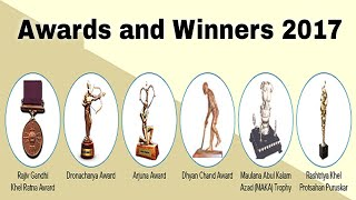 awards complete list 2017 in hindi || awards and winners 2017 || national and international awards