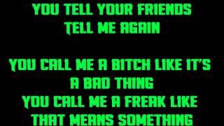 halestorm you call me a bitch like it s a bad thing lyrics