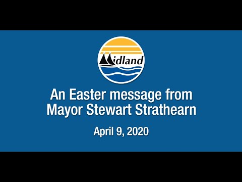 An Easter message from Mayor Stewart Strathearn