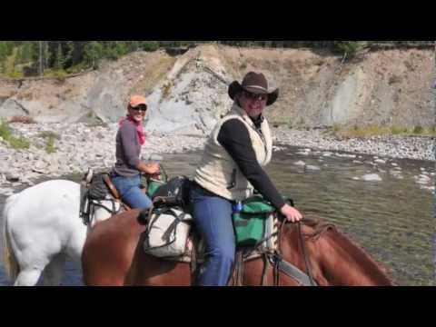 Yellowstone Backcountry Horse trip