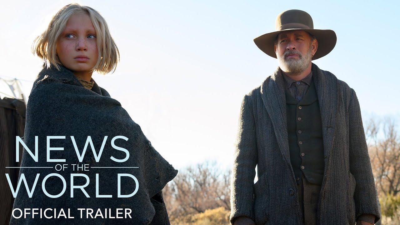News of the World trailer met Tom Hanks