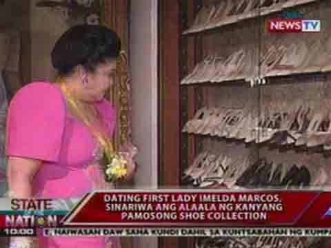 SONA: Dating First Lady Imelda Marcos, sinariwa ang alaala ng kanyang pamosong shoe collection