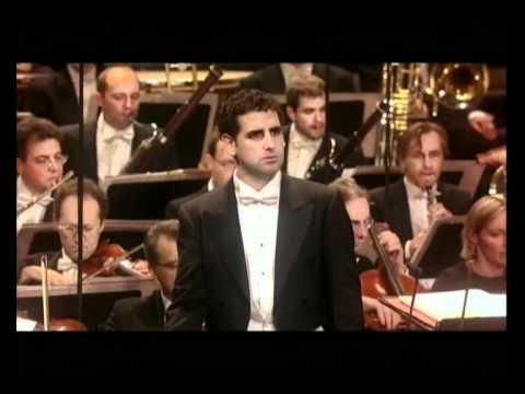 Juan Diego Florez - Concert au Théâtre des Champs Elysée - Paris