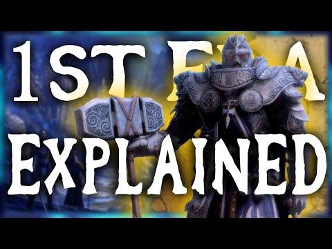 The First Era EXPLAINED! Ayleids, Dwemer, Akaviri Invasions - Elder Scrolls Lore
