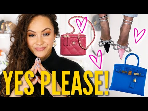 LUXURY WISHLIST 2020 | Chanel, Dior, Alexander Wang Etc.