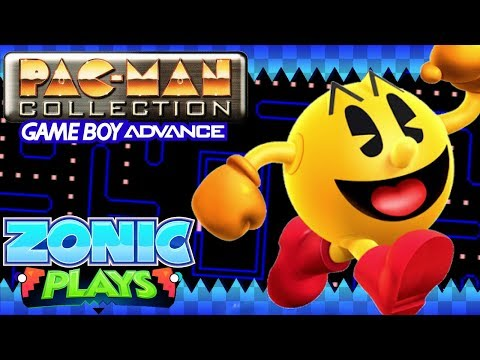 Pac-Man Collection (GBA) | Zonic Plays