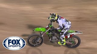 Repeat youtube video Ryan Villopoto Wins Finale - Las Vegas Supercross 2014