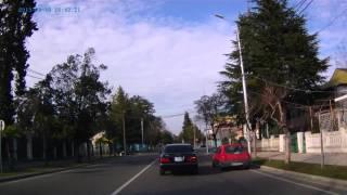 Через Кобулети 11 03 13(Через Кобулети в марте 2013г. От станции Кобулети по дороге в сторону Поти до поворота на Шекветили. Нет звуко..., 2013-08-07T08:13:16.000Z)